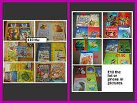 childrens books £10 per bundle can split into smaller bundles