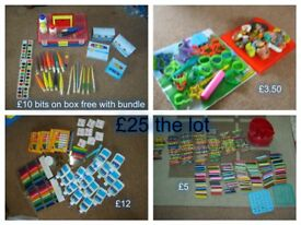 Art and craft bundle £25 the lot or prices on pictures