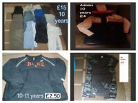 boys clothes 10 years some 10-11 from a smoke and pet free home collection from didcot