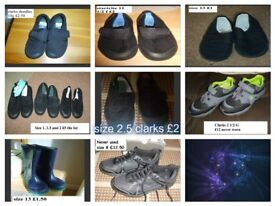 school shoes and plimsolls collection from didcot smoke and pet free home