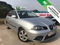 2007 SEAT IBIZA 1.2 12v REFERENCE - 75K MILES - FULL MOT - FREE 15 MONTHS WARRANTY- PX WELCOME