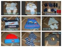 winter hats 3+ months prices on pictures or £10 the lot collection from didcot