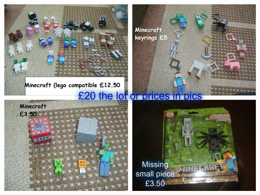 Minecraft toy bundle