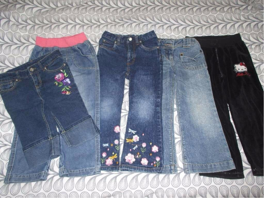 Girls 4-5 yrs bundle of trousers
