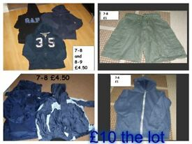 bundle of 7-8 years clothes prices on pictures or £10 the lot collection only from didcot