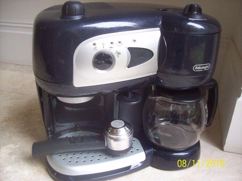 De'longhi dedica deluxe manual espresso machine silver.