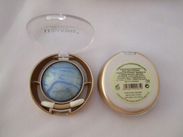 Ludanmei Terracotta Eyeshadow/Blusher Blue/Green Splash New