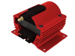 12 VOLT EXTERNAL IGNITION COIL E-CORE STYLE RED 6930-R
