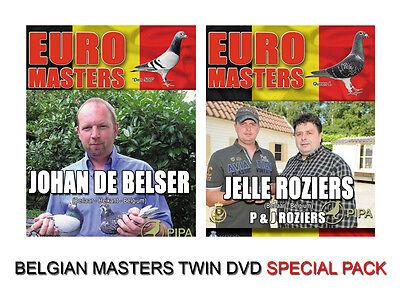 BELGIAN MASTERS RACING PIGEON TWIN PACK DVD