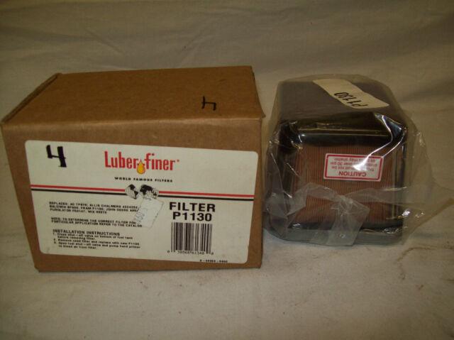 Luberfiner P1130 Fuel Filter Xref Wix 33370 One Filters Ebayrhebay: Fuel Filter Wix 33370 At Elf-jo.com