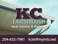 Professional Eavestrough  Soffit Fascia Install