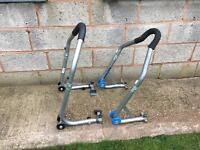 UNIVERSAL FRONT AND REAR PADDOCK STANDS SET
