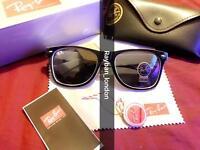 Rayban aviator wayfarer men's women's sunglasses retro vintage free local del bargain