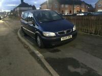 VZafira 7 seaters Disel 7months Mot very good runner ready to go .