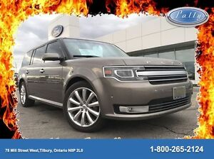 2013 Ford Flex Limited, Ecoboost, Moonroof, AWD, One owner!!!