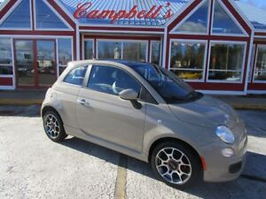 2012 Fiat 500 Sport SUNROOF!!!! LEATHER INTERIOR!!