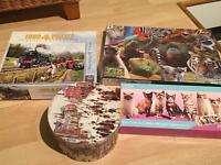 Selection of jigsaw puzzles