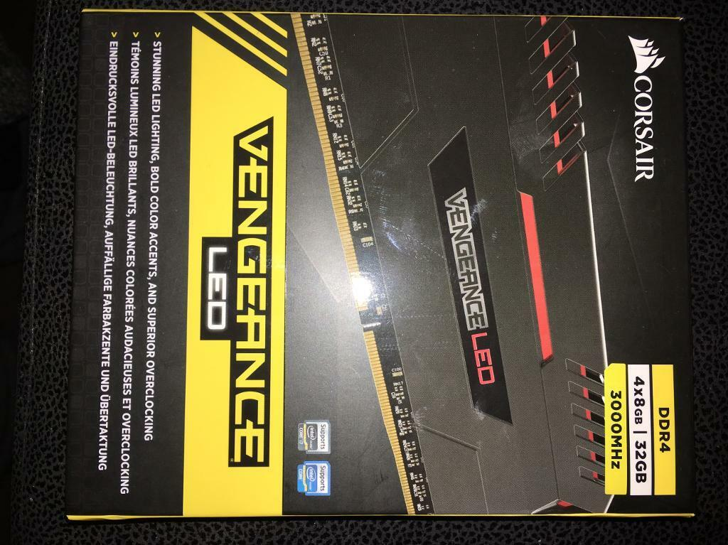 DDR 4 memory 4x8GB 32GBin Darwen, LancashireGumtree - DDR 4 32GB new never used cost £200 will sell for £150