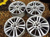 "20"" GENUINE LANDROVER RANGE ROVER SPORTS HSE SET OF 4"