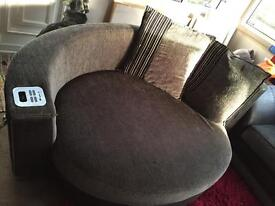 Cuddle sofa and 4 seater