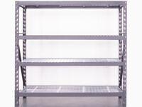 BRAND NEW 4 Tier Industrial Shelving Unit – 500KG – 200 (H) X 192 (W) X 60 (D).