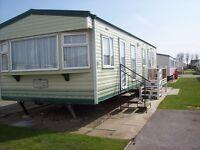 static caravan to hire rent let 2 bed 6 berth the wolds caravan park ingoldmells