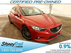 2014 Mazda Mazda6 GT - CERTIFIED (7 YEAR WARRANTY) NAV! 2 SETS R