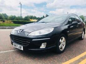 Peugeout 407 SW Special Edition Estate Diesel.