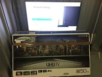 "Samsung 50"" 4K smart UHD led tv ue50ju6800"