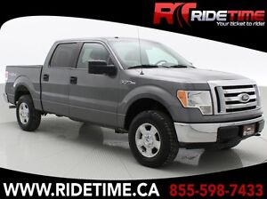 2010 Ford F-150 XLT 4WD - SuperCrew, Alloy Wheels, Power Windows
