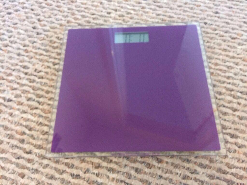 Purple Bathroom Scales