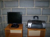 Epson Stylus 830 Photo printer and Dell monitor