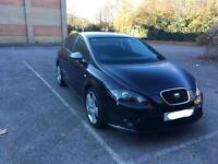 2010 Seat Leon 2.0L CR FR 170 TDi Metallic black FSH 63k Xenons Bluetooth
