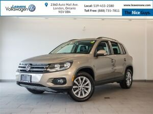 2015 Volkswagen Tiguan Comfortline+AWD+PANO SUNROOF+HEATED SEATS