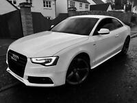 Audi A5 S-line black edition 2.0 diesel £30 road tax