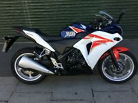 Honda CBR250R ABS, 5k miles from new!