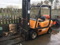 Samsung Forklift 1.5t good condition LPG