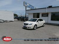 2012 Buick Verano Leather Edition - Sunroof, Pwr Seat, White Dia