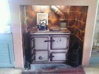 Solid fuel Rayburn Stove