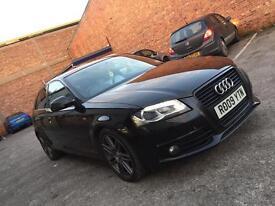 Audi A3 s line black edition 2009