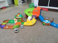 Huge bundle of Vtech toot toot animal toys in excellent condition