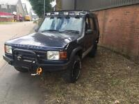 Landrover Discovery 300tdi 4x4 off road ready winch