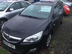 61 Vauxhall Astra 1.3 Cdti estate eco £30 tax