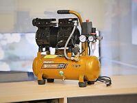 Silent Air Compressor Oil Free PRO10L 65dB 90L/Min dental medical compact 230V