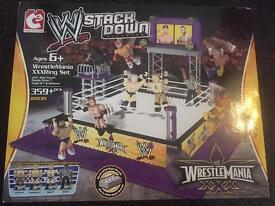 WWE STACKDOWN WRESTLEMANIA XXXRING SET