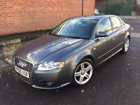 AUDI A4 S-LINE 2.0 TDI DIESEL 6 SPEED MANUAL ONE PREVIOUS OWNER