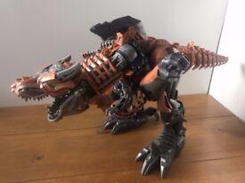 GRIMLOCK Stomp and Chomp Transformer Dinosaur Large 20inch; Lights & Sounds Toy £10