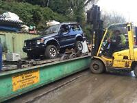 Scrap cars vans 4x4 wanted £50 plus 07794523511