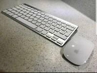 Apple wireless keyboard and magic multi touch mouse boxed as new