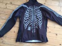 Foska Bones Reflective Toastie Cycling Jacket (M)